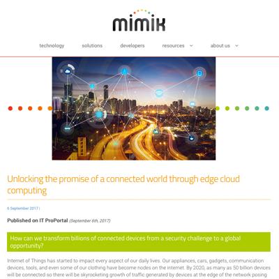 mimik news