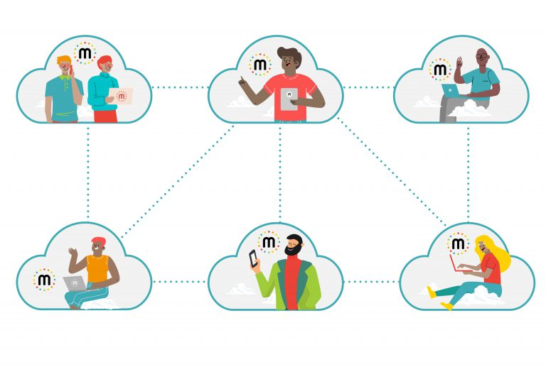 Hybrid edge cloud platform network