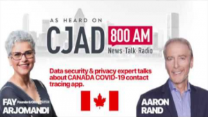 Data security & privacy expert talks about Canadian contact tracing app
