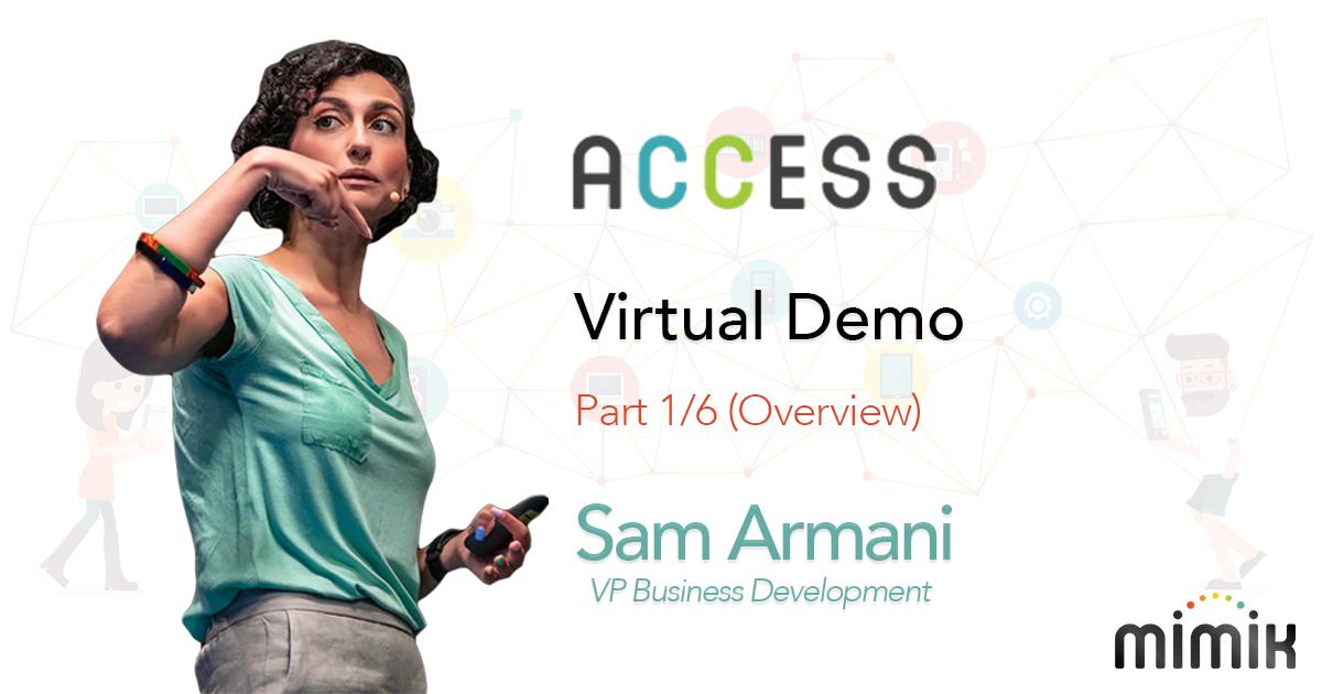 mimik Access (Overview) Part 1/6