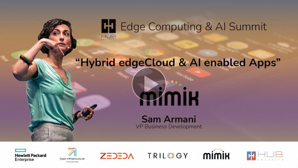hybrid edgecloud ai enabled apps